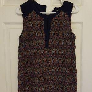 Dresses & Skirts - Tribal sleeveless shift dress